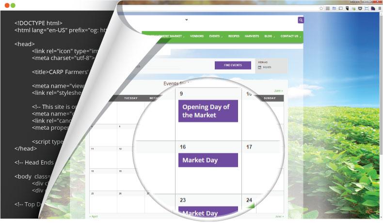 CFM events calendar