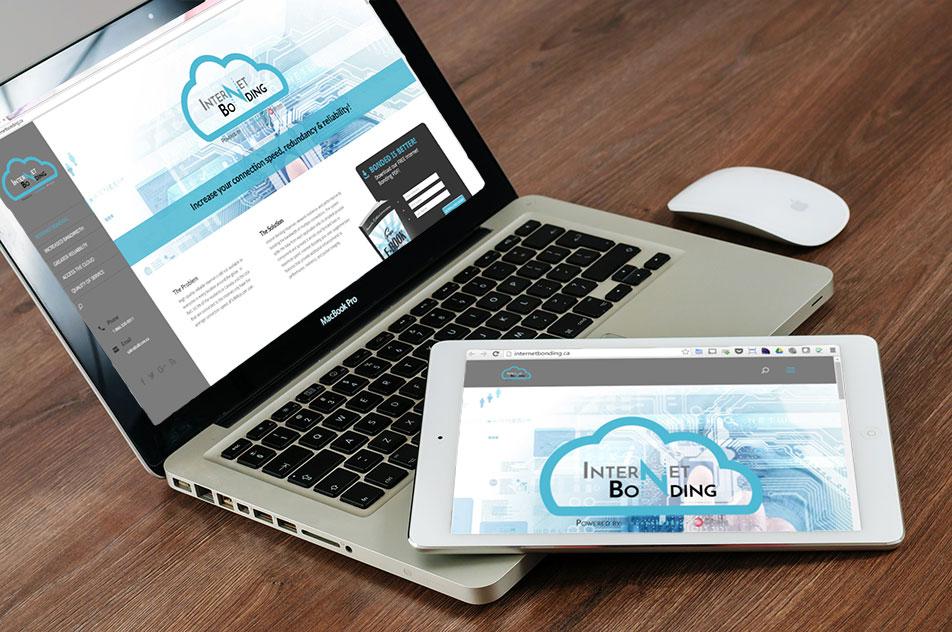Internet Bonding website design