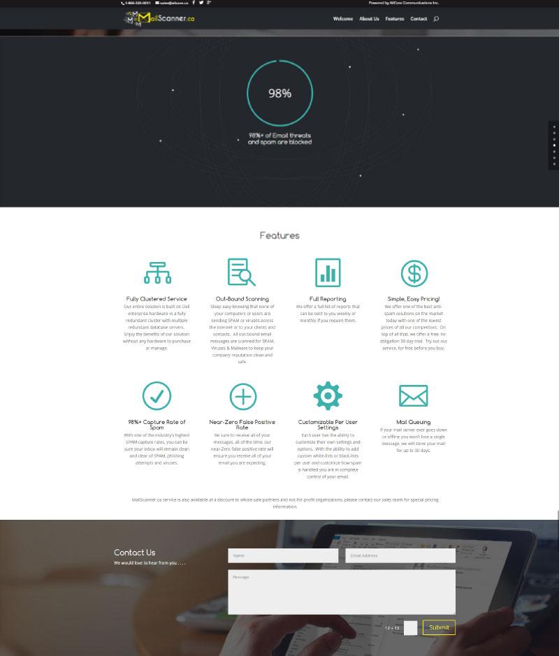 MailScanner.ca layout 2