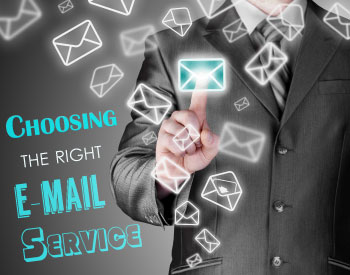 Choosing the right e-mail servie