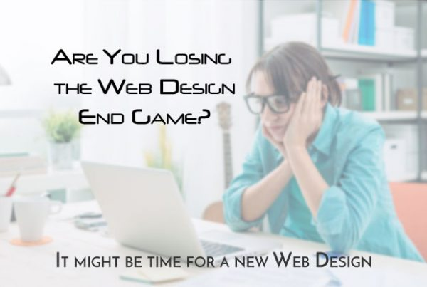 Losing Web Design End Game