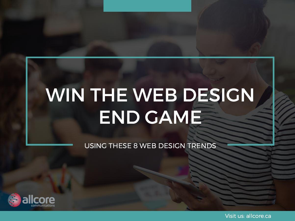 8 web design trends