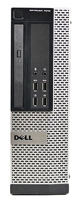 front panel of Dell OptiPlex 7010