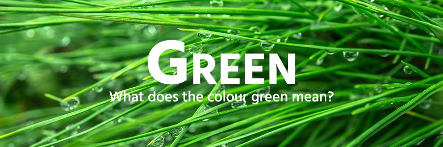 Green colour example - grass