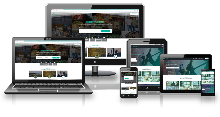 Guelph Community Responsive layouts