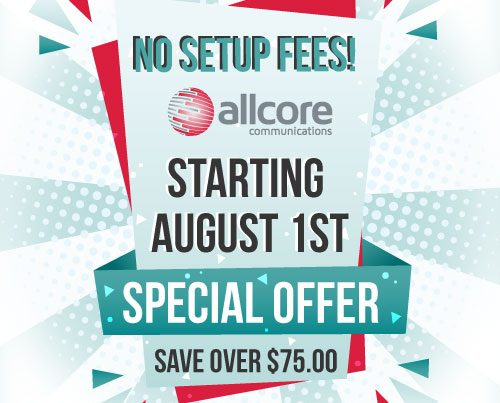 No Set-up Fees Special Offer