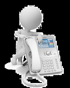 Hosted PBX phone